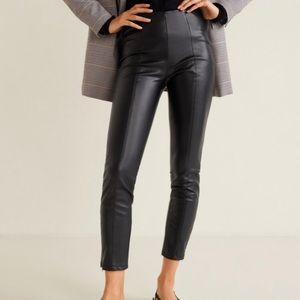 e76709a5b2da Women s Mango Leather Pants on Poshmark